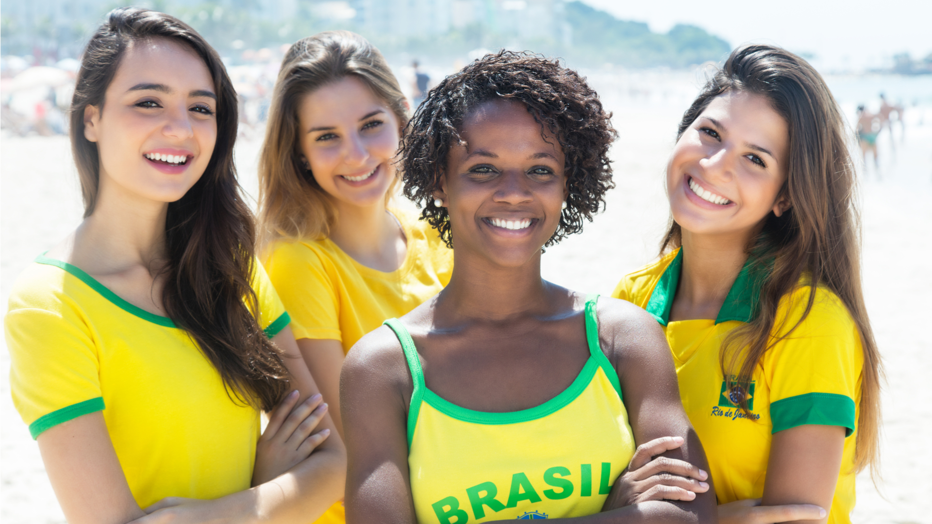 Brazilian women features
